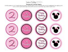 minnie mouse pink printable napkin wrappers labels diy minnie