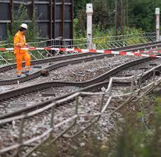 Baden Baden Linie Rheintalbahn Strecke Zwischen Raststatt Und Baden Baden Gesperrt