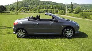 peugeot 206 2006 2005 55 peugeot 206 cc 1 6 convertible 65k miles fsh main