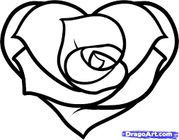 hearts and roses and stars drawings free download clip art