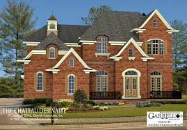 Chateau Home Plans Chateau Debinaire House Plan House Plans By Garrell Associates Inc