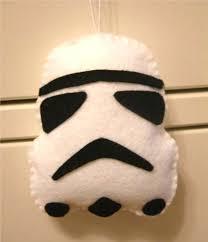 wars ornaments stormtrooper craft walyou