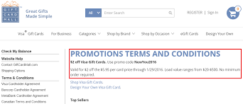 gift card mall vs giftcards 2 visa gift cards purchased from gift card mall promo code