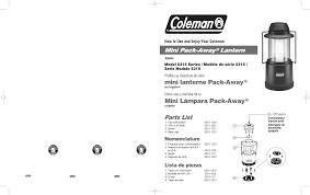coleman camping equipment 5315 user guide manualsonline com