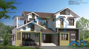 kerala style contemporary house designs youtube