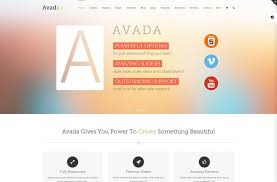 avada theme portfolio order 34 best clean wordpress themes codeless blog