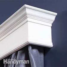 How To Make Window Cornice How To Build Window Cornices Family Handyman
