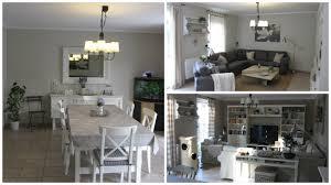 Esszimmer Im Shabby Look Kleines Gelbes Haus Ikea Landhauslampen Für Wohn Und Esszimmer