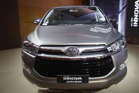 toyota innova toyota innova crysta u0026 toyota fortuner prices hiked in india