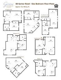 Internet Cafe Floor Plan 60 Ggp One Bedroom Apartments Jpg