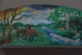 lexarts lexington mural project hurst group mural by artist char downs