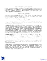 carbonic acid introductory chemistry lab manual docsity