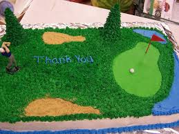 retirement golf cake cakecentral com