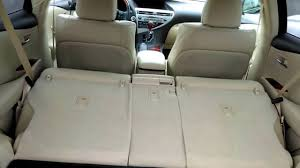 lexus es300 back lexus rx350 rear split folding sliding seat how to youtube