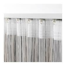 Curtains White And Grey Dagrun Curtains 1 Pair Ikea