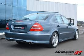 mercedes e class forums expression rear lip for w211 check it out mercedes forum