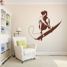 Wall Decal For Living Room Surf Wall Decals Promotion Shop For Promotional Surf Wall Decals