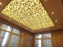 latest pop false ceiling design catalogue with led lights ideas