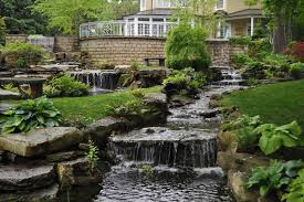 Backyard Waterfall Backyard Waterfalls Ideas To Inspire You