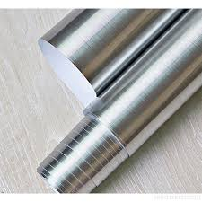 self stick paper peel and stick brushed stainless steel contact paper self adhesive