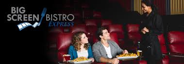 big screen bistro express in theater dining at marcus theatres