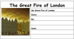 the great fire of london diary entry worksheet london diary