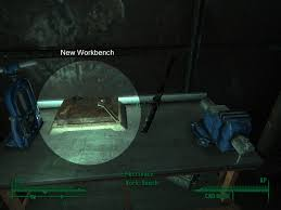 Bench Locations Junk Metal Schematics Original Weapons Workbench At Fallout3