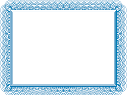 blank page border design