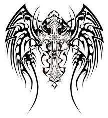 awesome tribal cross tattoos design jpg 1024 1118 chelsea