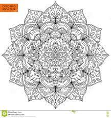 mandala for coloring page intricate mandala design vector mandala