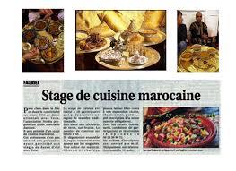 cours cuisine etienne côté cuisine marocaine à étienne les cours et bien d autres