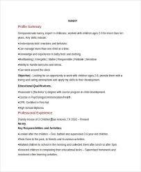 Nanny Job Description For Resume by Nanny Job Description Resume 23 Best Resumes Images On Pinterest