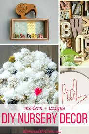 Nursery Decor 12 Unique And Modern Diy Nursery Decor Ideas