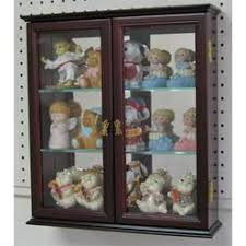 wood curio cabinet with glass doors displaygiftscom shot glass display case wall curio cabinet glass