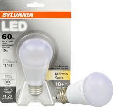 sylvania orios a19 10 watt led lamp bulb