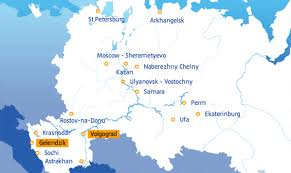 european russia map cities aero in moscow fast growing avianova stimulates russian
