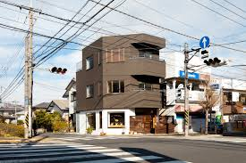 Three Story Building Kawasaki S House Leibal
