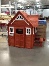 cedar playhouse at costco baby pinterest cedar playhouse