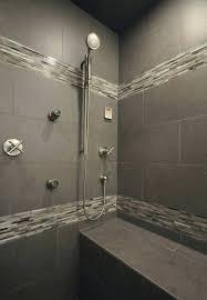 Modern Gray Tile Bathroom Gray Tile Bathroom Gray Tile Bathroom Ideas Simpletask Club