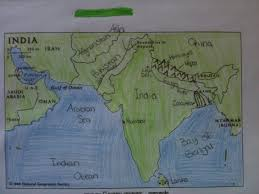 Ancient India Map Worksheet by Little Piece Of Tape Ancient India Interactive Notebooks