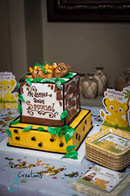 lion king baby shower decorations baby shower ideas lion king theme style by modernstork