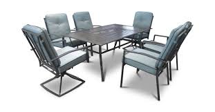 Dock 86 Patio Furniture Lakeview 7 Piece Cushioned Patio Dining Set By Direct Designs