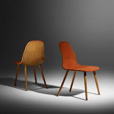 15 charles eames and eero saarinen rare pair of chairs from the