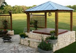 Covered Gazebos For Patios 26 Spectacular Tub Gazebo Ideas