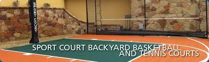 Backyard Sport Courts Court Building In Austin U2013 Sport Court Of Austin