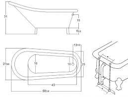 Designs Beautiful Standard Bathtub Size by Bathtub Dimensions 93 Beautiful Design On Standard Bathtub