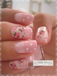 45 warm nails perfect for spring vintage nails flowers and vintage