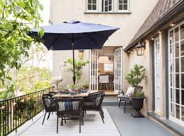 Patio Half Umbrella by How To Decorate Your Outdoor Space With All Target Emily Henderson