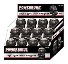 clip on visor light buy powerbuilt 641574 led clip on visor light with built in magnetic