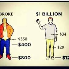 Rich People Meme - broke people vs billionaires imgur